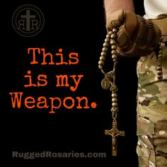 Rugged Rosaries  #paracordrosaries #combat #military #catholic