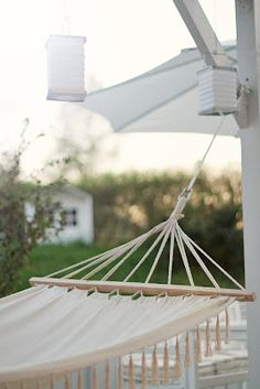 ♥ Loved by www. Outdoor Spaces, Outdoor Living, Garden Living, Backyard, Patio, Creature Comforts, Big Tree, Happy Summer, Cottage Ideas