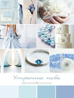 Country Blue Wedding Palette