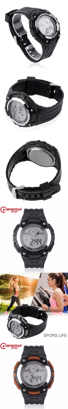 2017 MINGRUI men watches Special Men Women Sport Waterproof Wrist Watch Trendy Casual Rubber Strap Quartz Wrist Watches