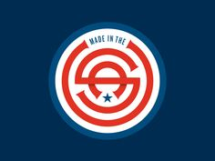 Made in the USA by Allan Peters #Design Popular #Dribbble #shots