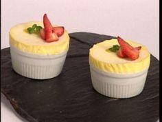 Soufflé glacé de mango Chefs, Pudding, Desserts, Food, Gourmet, Beverage, Dishes, Sweets, Deserts