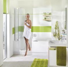 Fürdőkád és zuhany egybeépítve - Twinline 2, ARTWEGER