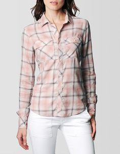 What makes the Georgia plaid shirt special? It begins with the exceptional fabric and ends with a vintage finish. This classic button down was woven...
