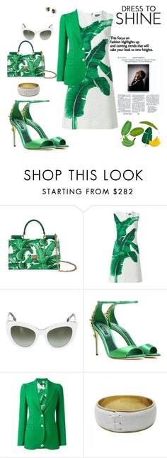 """""""Dress to Shine-Dolce & Gabbana addict"""" by agnesmakoni ❤ liked on Polyvore featuring Dolce&Gabbana"""