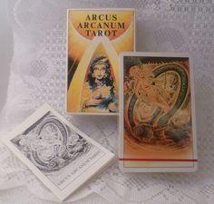 ARCUS ARCANUM  TAROT-SET    *Tarot - Wege zum Leben Handbuch und 78 Karten in praktischer Box Hansrudi Wäscher*     *+Gesuchte Rarität für Sammler!*+