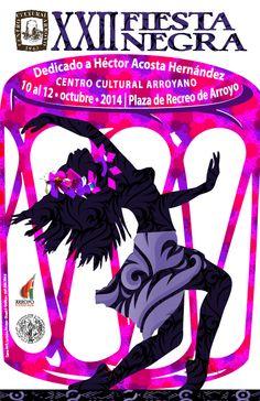 Diseños que Provocan... by Carmen R. Lebrón Anaya: XXII Fiesta Negra 2014