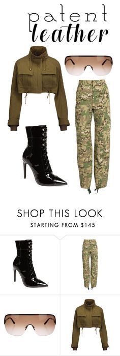 """""""The Tough Girl Night Out on town"""" by daniellexoxo196 ❤ liked on Polyvore featuring Jeffrey Campbell, Vetements, Tom Ford and Balmain"""
