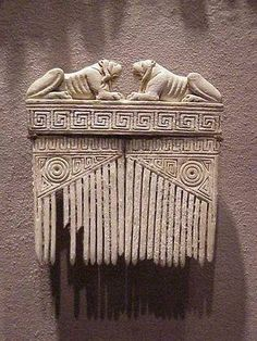 Etruscan comb