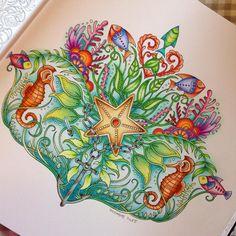 @johannabasford #johannabasfordlostocean #johannabasford #lostocean #coloring #coloringbook #colorindolivrostop