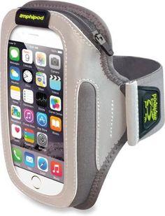 acf46e3a1b8 Amphipod ArmPod Sumo Reflective Burst Armband Case Silver/Charcoal Silver,  Clothing Accessories, Apple