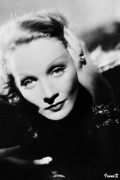"""Jack Cardiff's notes and memories about Marlene Dietrich: """"Avoid a profile. She has a long nose which shows when filmed from the side. She doesn't like it. And she knows more about how to light her and film her than all the technicians put together. What a perfect face to film. Put a light high above her hear — at 12 o'clock high — and the bone structure is perfect. Age cannot change that. That light, high over her head is the most revealing. Few young girls in films can stand it. But…"""