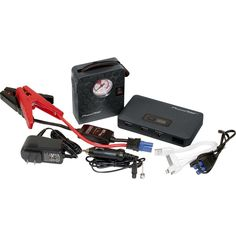 PowerNow! - Jump Deluxe Portable Power Pack & Jump Starter with Air Compressor - Black