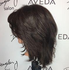 How to Thicken & Maintain Fine Hair Long Hair With Bangs, Big Hair, Short Hair Cuts, Hairstyles Haircuts, Pretty Hairstyles, Medium Hair Styles, Curly Hair Styles, Medium Shag Haircuts, Hair Color And Cut