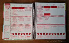 Love her ideas for organizing the Life Planner...may have to steal some for mine.  :)