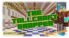 Let's Play Minecraft Maps, Tallcraft Dropper Ep 4 - an explosive ending! How To Play Minecraft, Lets Play, Maps, Tech Companies, Let It Be, Blue Prints, Map, Cards