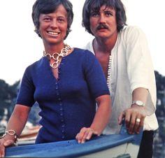 Diane and Steve Summer 1971 Greece somewhere.