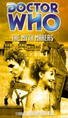 S03E03  --  The Myth Makers  --   The TARDIS lands in the plains outside besieged Troy. The Doctor finds himself mistaken for the god Zeus and is given a tight deadline to devise a plan that will put Troy in the hands of the Greeks. In the meantime the TARDIS, with Vicki inside, has been captured by the Trojan Prince Paris. Loose Cannon Production #26  (www.recons.com)