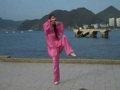 Tai Chi 42 Forms Part 1 to 4 - Total Demo by Miss Ng Ah Mui - YouTube