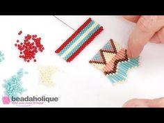 How to Attach a Vertical Loop Multi Strand Clasp to Peyote Bead Weaving - YouTube