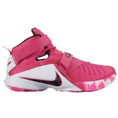 timeless design b1524 e88f5 Nike Zoom Soldier 9 - Men s - Basketball - Shoes - LeBron James - Vivid Pink  White Pink Pow Metallic Silver-sku 49417601