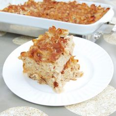Passed down for generations, Cinnamon Apple Noodle Kugel is a sweet and comforting side dish the whole family loves, especially with my healthier twists! Apple Kugel Recipe, Noodle Kugel Recipe, Apple Recipes, Holiday Recipes, Noodle Casserole, Holiday Meals, Noodle Recipes, Hanukkah Recipes, Rice Recipes