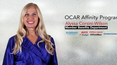 Alyssa Corsini-Wilson of the OCAR Membership Benefits Department breaks down the new Affinity Program with discounts at Wyndham Hotels, Avis, Budget, Office Depot, OfficeMax, and Constant Contact. www.ocar.org/benefits