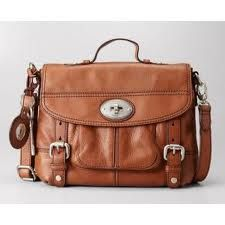 22d6907a7fd6 fossil maddox small workbag in chestnut