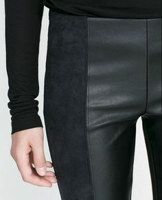 Image 6 of COMBINED LEGGINGS from Zara