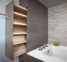 30 Creative and Practical DIY Bathroom Storage Ideas | Daily source for inspiration and fresh ideas on Architecture Art and Design #diybathroomideas