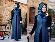 Kışlık Tesettür Kıyafetler
