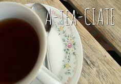 Several tea puns later Tea Puns, Tableware, Blog, Writing, Dinnerware, Tablewares, Blogging, Dishes, Being A Writer