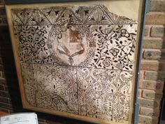 """""""At @WealddownMuseum - Tudor wall paintings rescued from house undergoing…"""