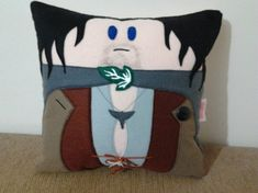 Handmade Lord of the Rings LOTR Aragorn Pillow by RbitencourtUSA.deviantart.com on @DeviantArt
