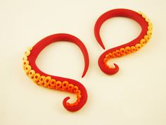 Custom Octopus Tentacle Gauges  00G to 1 size by HipsterOctopus, $27.00