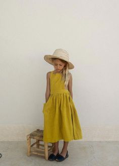 Toddler Baby Kids Girls Letter Princess Polka Dot Dress Straw Cap Hat Outfits