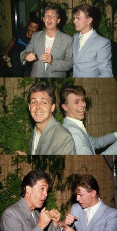 awesome x awesome = ... holy crap!! Davie Bowie AND Paul McCartney!! gah!1
