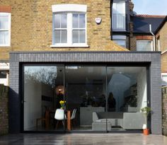 Brick Extension, House Extension Design, Extension Designs, Glass Extension, Orangery Extension, Garden Room Extensions, House Extensions, Victorian Terrace House, Glass Structure