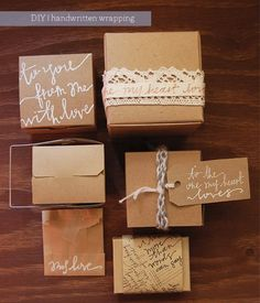 gift wrap ideas - Click image to find more Weddings Pinterest pins