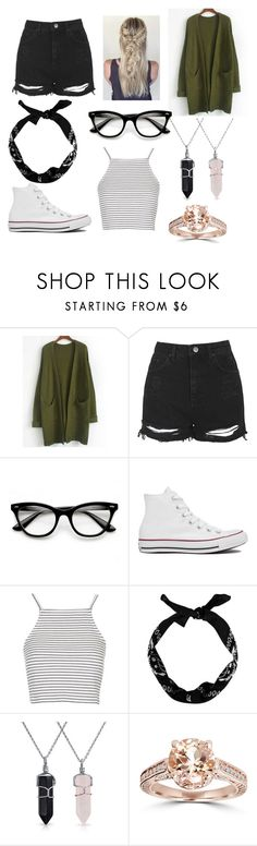 """""""fjkhgk"""" by bcostinshaw on Polyvore featuring Topshop, Converse, Bling Jewelry, women's clothing, women's fashion, women, female, woman, misses and juniors"""