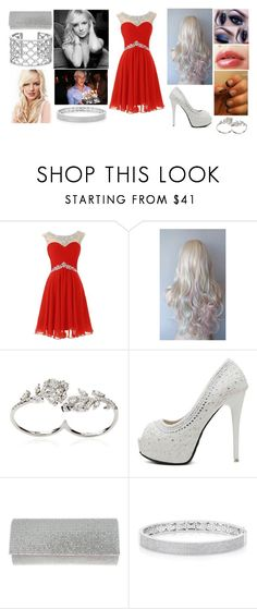 """Album Launch Party"" by miahickmanlynch ❤ liked on Polyvore featuring Apples & Figs, Verdura, Britney Spears, WithChic, Nina and Anne Sisteron"