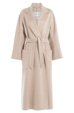 MAX MARA Cashmere Coat. #maxmara #cloth #long coat