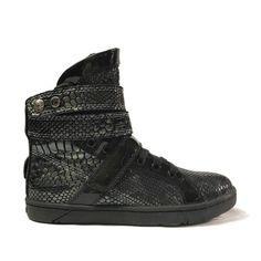 Charcoal Anaconda Super Shift High Top Sneaker | Apparel & Accessories | Heyday Footwear