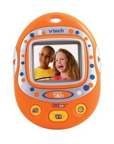 VTech Preschool Learning KidiLook Digital Photo Frame by V Tech. $15.19. Ages 3+. Real digital clock display. Stores up to 100 photos. Create your own story with photos. Built-in motion sensor. From the Manufacturer                Shake it, shuffle it, and share with the KidiLook Digital Photo Frame! Now your child can share her favorite photos and create their own digital photo stories! Store up to 100 photos with this portible photo gallery! Shake it, shuffle it, and ...