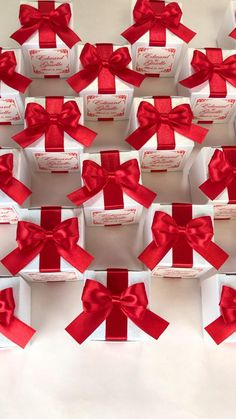 Wedding Candy Table, Candy Wedding Favors, Wedding Gifts For Guests, Wedding Favor Boxes, Red Wedding, Wedding Door Hangers, Wedding Doors, Handmade Wedding Favours, Personalized Wedding Favors