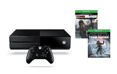 [Americanas] Xbox One 1TB + 2 Jogos Tomb Raider + 1 controle R$1529
