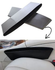 #17. Car Caddy (A clever place to keep your phone and other small items!) -- 55 Genius Storage Inventions That Will Simplify Your Life