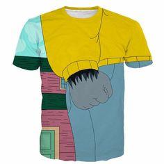 Gorilla Hand Cartoon Style Draw Vibrant Design T-Shirt  #Gorilla #Hand #Cartoon #Style #Draw #Vibrant #Design #T-Shirt