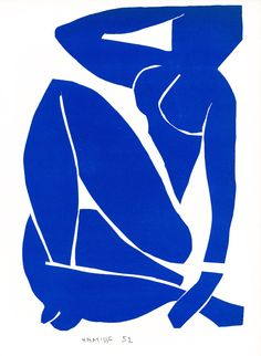 TROWBRIDGE - FineArt- Matisse print, signed, made in 1954