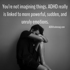 But, once you understand your difficulty with emotional regulation, you can get it under control. In this video, learn how. Adhd Odd, Adhd And Autism, Adhd Brain, Adhd Help, Adhd Diet, Adhd Strategies, Attention Deficit Disorder, Adult Adhd, Emotional Regulation